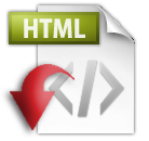 HTML Web Page View