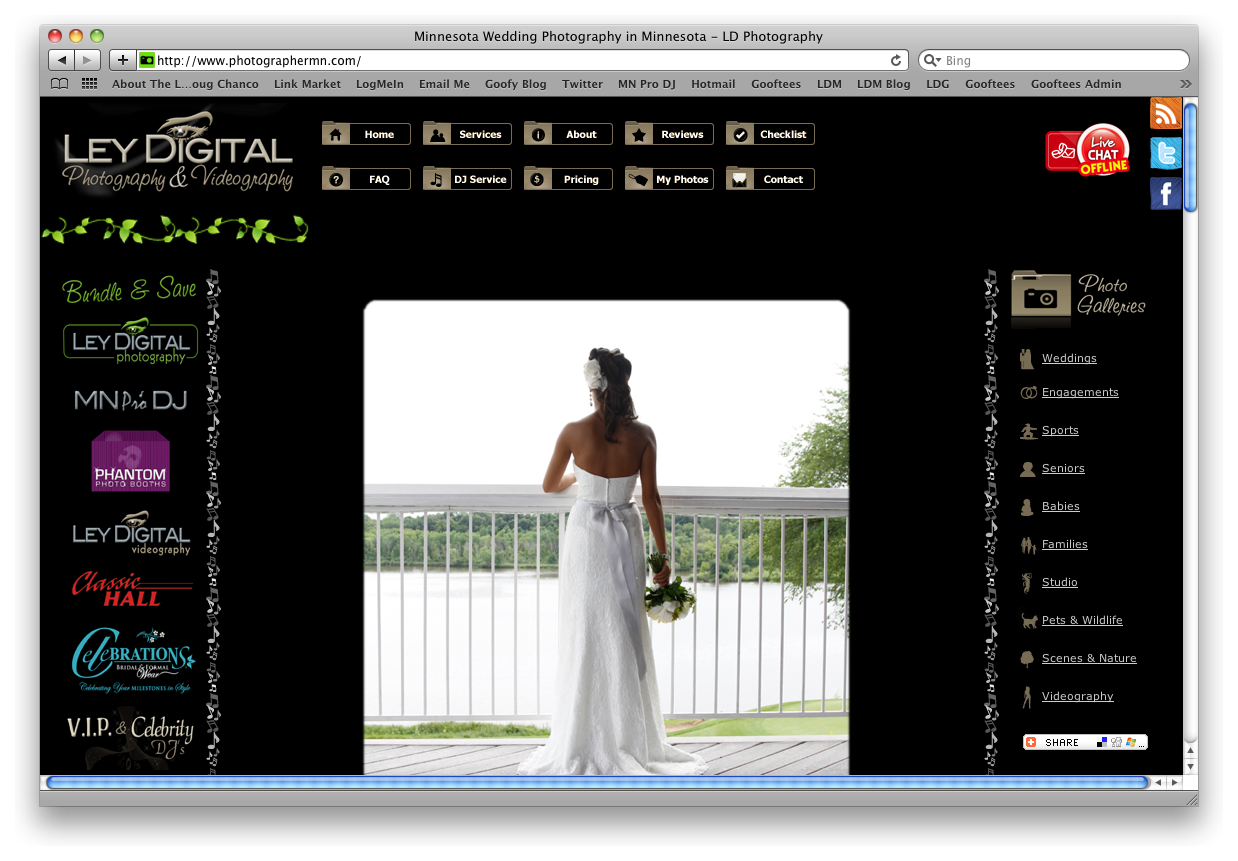 Web Design Sample 1