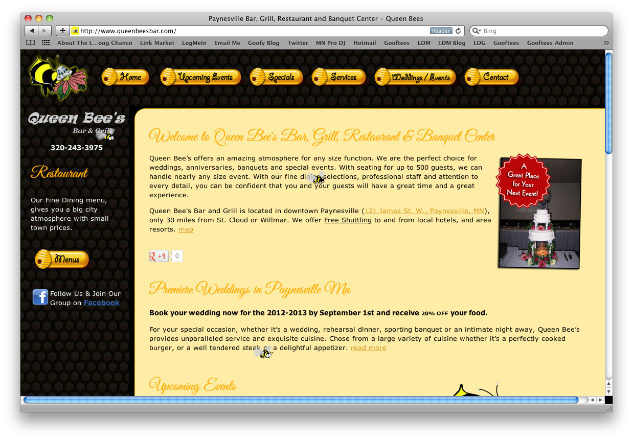 Web Design Sample 5